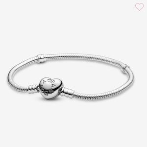 Pandora Moments Heart Clasp Bracelet